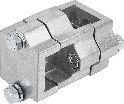 Kreuzstück Vierkant Aluminium