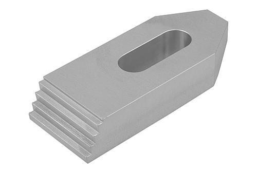 Spanneisen mit Treppenzähnen Aluminium