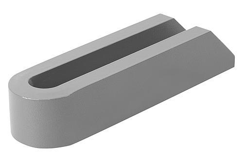 Spanneisen gabelförmig DIN 6315 Stahl Form A back