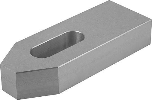 Spanneisen flach, DIN 6314, Aluminium