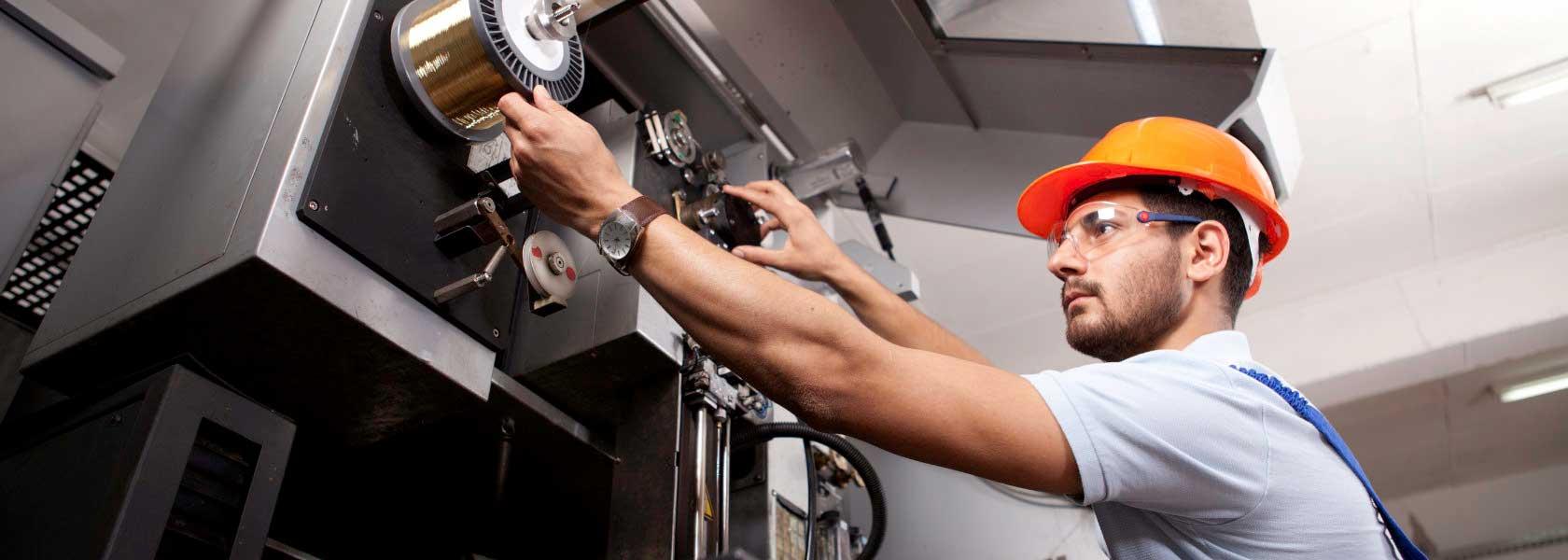 Header Maschinenhersteller und Anlagenbauer