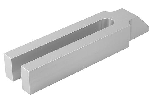 Spanneisen gabelförmig mit Nase, Aluminium