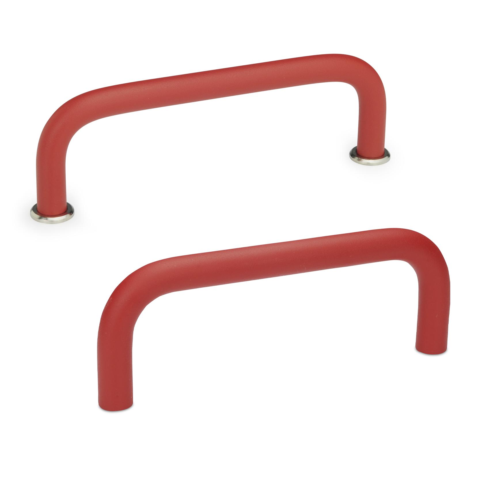 Bügelgriff 425, rund, Aluminium, rot