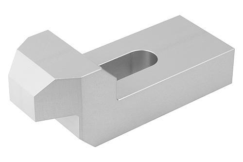 Spaneisen gekröpft DIN 6316 Aluminium