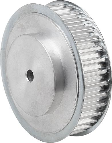 Zahnriemenscheiben Profil T, Aluminium